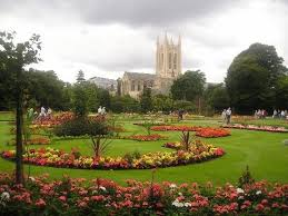 The Abbey Gardens, where scenes from The Book of Eve by Julia Blake are set